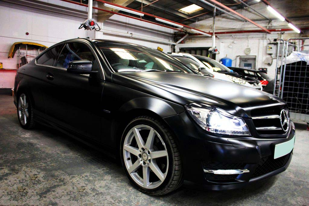 Car wrapping service uk