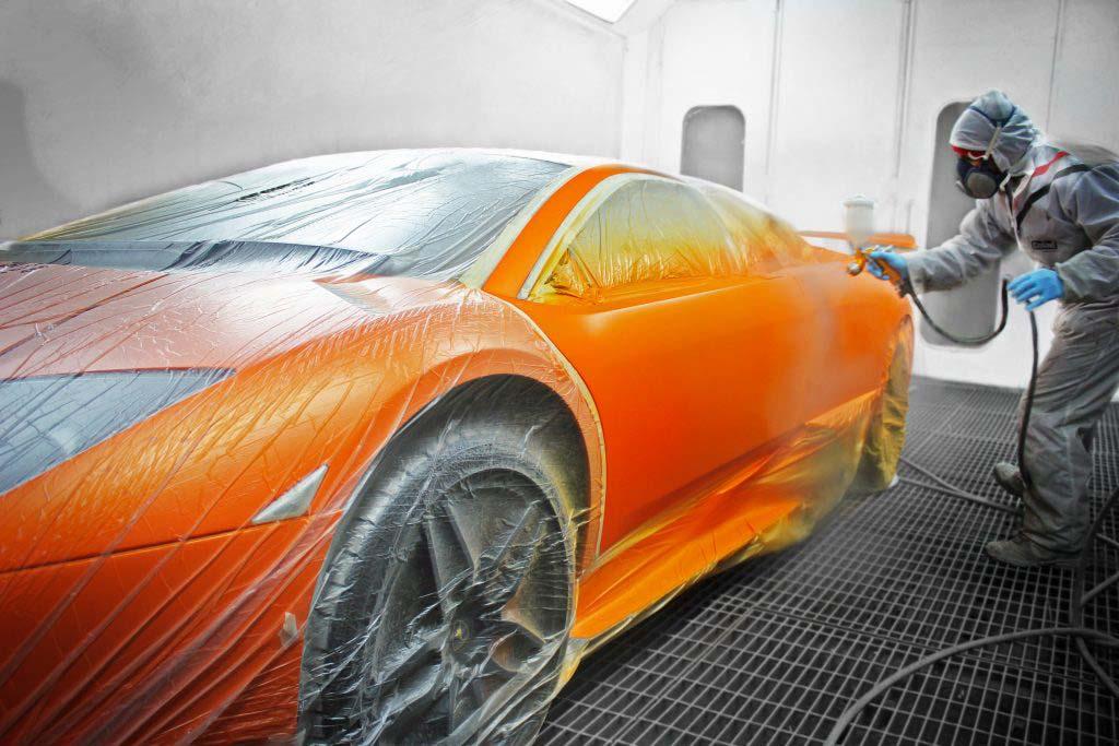 Supercar Painting With Enkahnz Car Guru