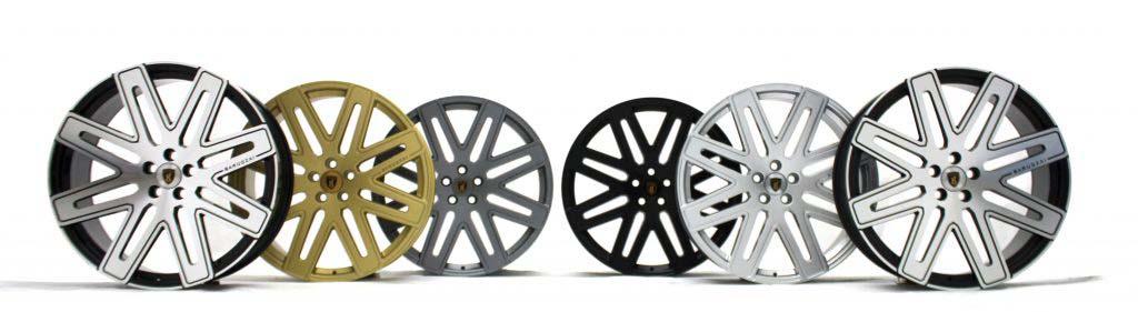 premium alloy wheels