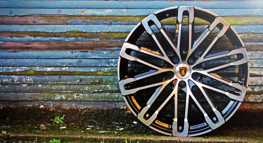 premium 22 24 alloy wheels